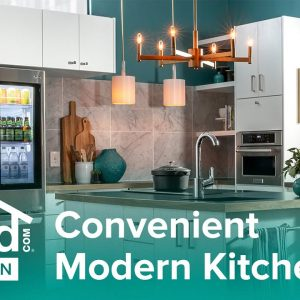 Convenient Modern Kitchen - Build by Design