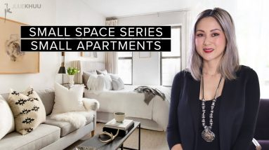 Top 10 Pieces You Need to Furnish Your Small Apartment | SMALL SPACE SERIES | Julie Khuu